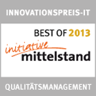 BestOf Qualitaetsmanagement 2013 140px